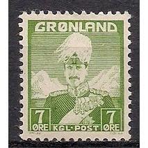 (GL) Greenland Sc#3 MH (3425)
