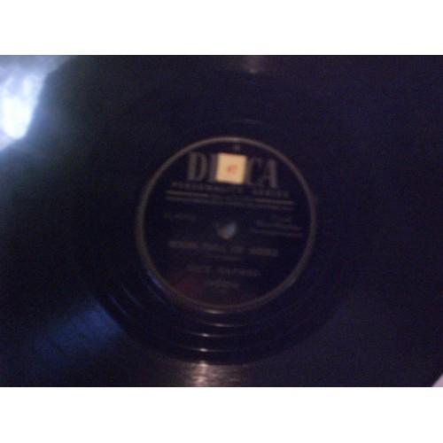 78 RPM: #3522 DICK HAYMES - ROOM FULL OF ROSES / VG+ / DECCA 24632