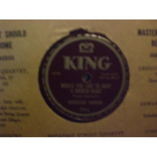 78 RPM: #3527 HAWKSHAW HAWKINS - THE LONGER WE'RE TOGETHER / VG/VG+ / KING 193