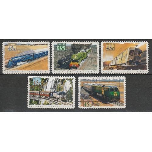 (AUT) Australia Sc# 1330-34 Used  (3534)