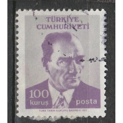 (TK) Turkey Sc# 1881 Used (3548)