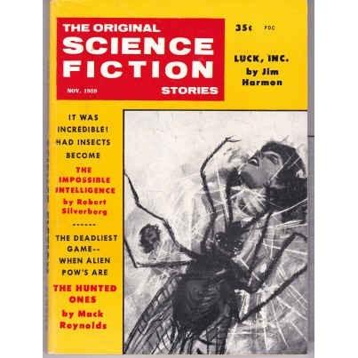 ORIGINAL SF STORIES 1959/11 Silverberg, Mack Reynolds