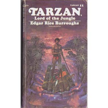 BURROUGHS Edgar Rice TARZAN LORD OF THE JUNGLE Abbett Cover