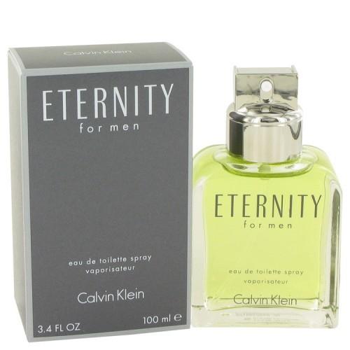 Eternity Cologne By Calvin Klein for Men 3.4 oz Eau De Toilette Spray