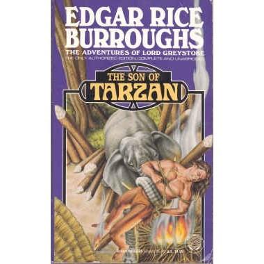 BURROUGHS Edgar Rice SON OF TARZAN Shaw Cover
