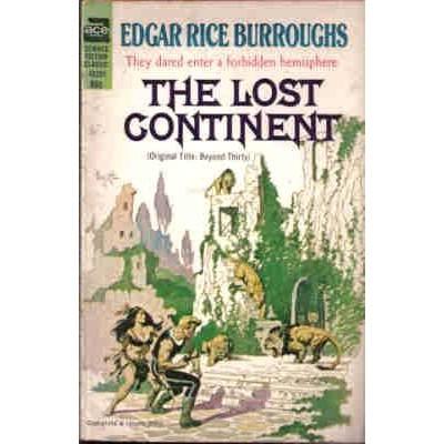 BURROUGHS Edgar Rice LOST CONTINENT Ace 2nd Frazetta