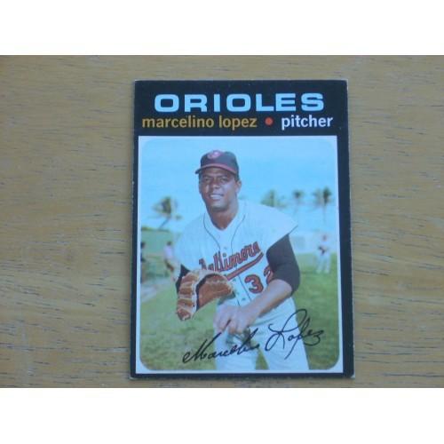 1971 Baseball Card 137 Marcelino Lopez Nice Shape