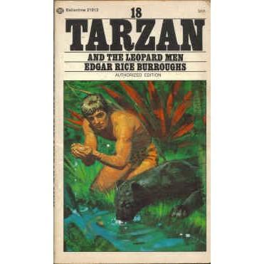 BURROUGHS Edgar Rice TARZAN & THE LEOPARD MEN 3rd