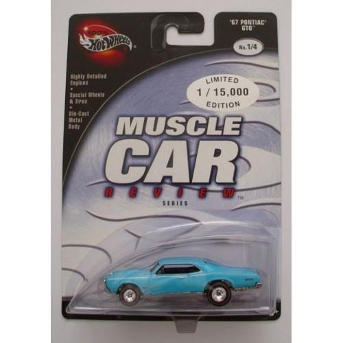 2003 Hot Wheels Preferred Muscle Car Review 67 Pontiac GTO Aqua Real Riders RLRR