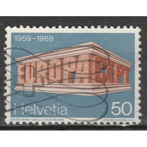 3(CH) Switzerland Sc# 500 Used (3867)