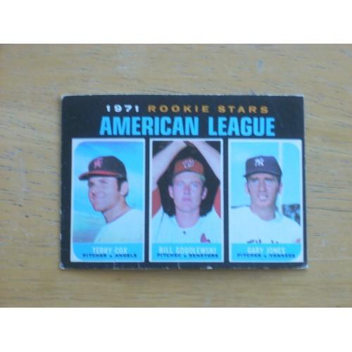1971 559 Rookie Stars Mid High # Nice Yankees Gary Jones