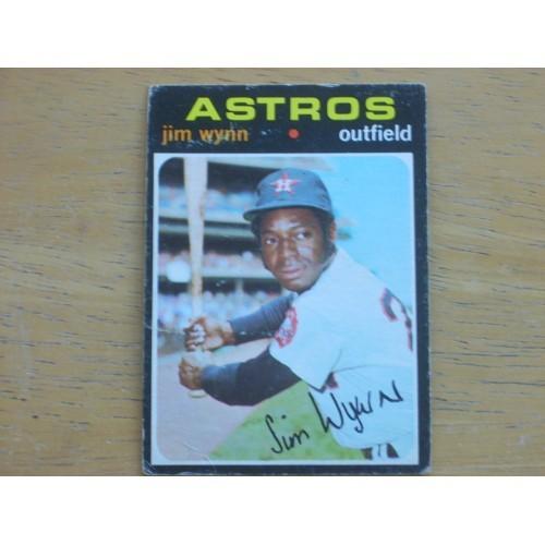 1971 Baseball Card 565 Jim Wynn Mid High Number Lo Mid Gr