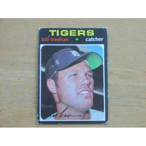 1971 Baseball Card 575 Bill Freehan Mid Hi Number Very Nice
