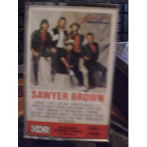 CASSETTE TAPE: #975.. SAWYER BROWN - SAWYER BROWN / CAPITOL 12391