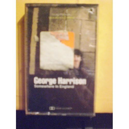 SEALED CASSETTE: #239.. GEORGE HARRISON - SOMEWHERE IN ENGLAND / DAH 3492