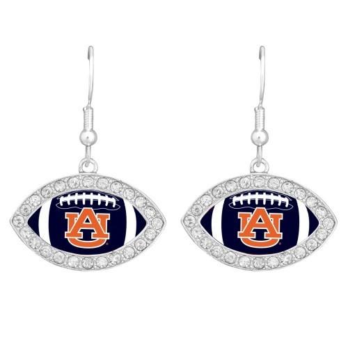 Auburn University Football Earrings