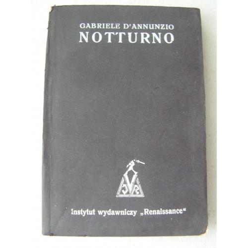 Notturno. D'Annunzio. -1934-. ...Warszawa-Lwow...