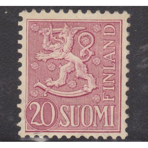 UNUSED FINLAND #319 (1954)