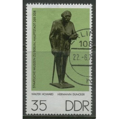 1976 DDR   35 Pf.  Small Skulptures  used, Scott # 1738