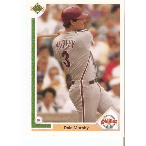 Dale Murphy 1991 Upper Deck #447 Braves Phillies Rockies