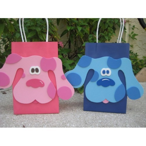 20 PC Blues Clues Magenta Goody Gift Bags Party Favors Candy Treat Birthday Bags