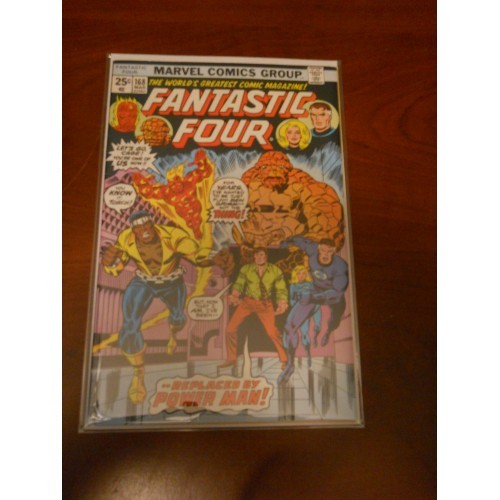 Fantastic Four 168 Marvel Comic Book Beautiful Copy  Archived in Mylar Luke Cage