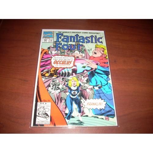 Fantastic Four 363 Marvel Comic Book Beautiful Hi Grade Copy  Archived in Mylar