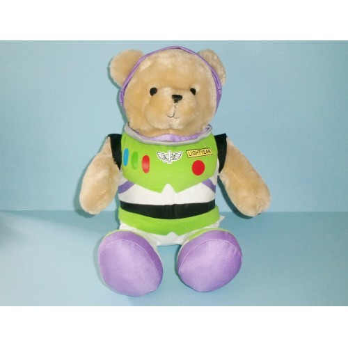 Toys R Us Plush Disney Bear As Buzz Lightyear 2010 From Toy Story 12 Inches Tall