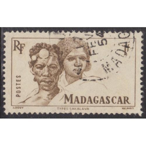 USED MALAGASY (MADAGASCAR) #275 (1946)