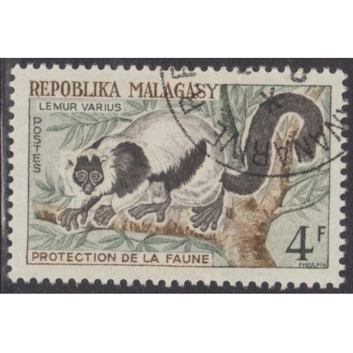 USED (CTO) MALAGASY (MADAGASCAR) #322 (1961)