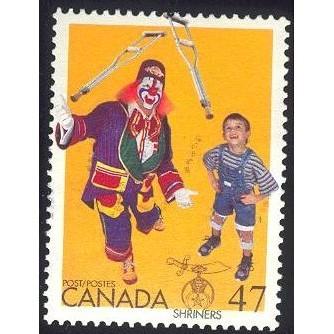 Canada 1917 Shriners CV = 0.30$