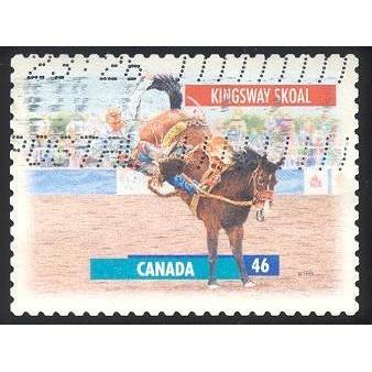 Canada 1796 Horses Bklt. Kingsway Skoal CV = 0.30$