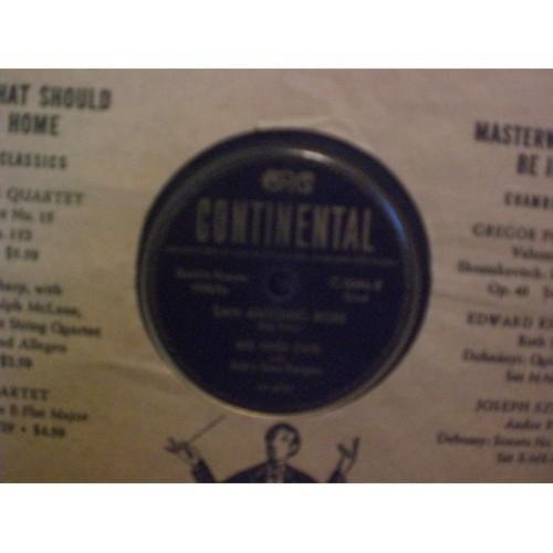 78 RPM: #3560 RED RIVER DAVE - SAN ANTONIO ROSE & COOL WATER / VG / DECCA 5046