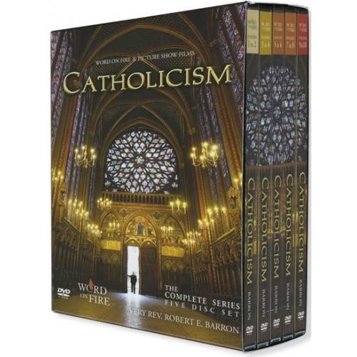 CATHOLICISM -DVD Box Set-Journey Around The World and Deep Into Faith