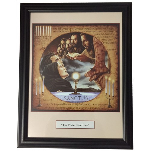 THE PERFECT SACRIFICE - Print Framed - 18.25 x 14 inches by Tommy Canning