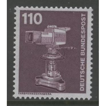 1982 GERMANY  110 Pf.  Color TV Camera  mint**,  Scott # 1180