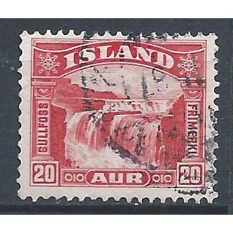 ICELAND 1931 – Used Sc. 171. CV $0.25