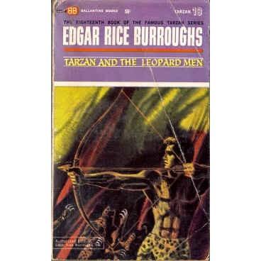 BURROUGHS Edgar Rice TARZAN & LEOPARD MEN 1st