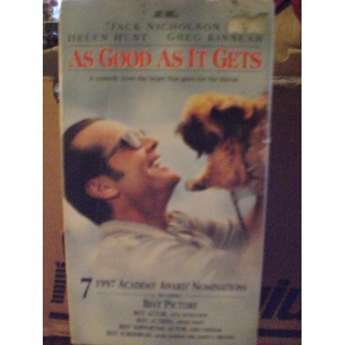 VHS TAPE: #479.. AS GOOD AS IT GETS - JACK NICHOLSON, HELEN HUNT