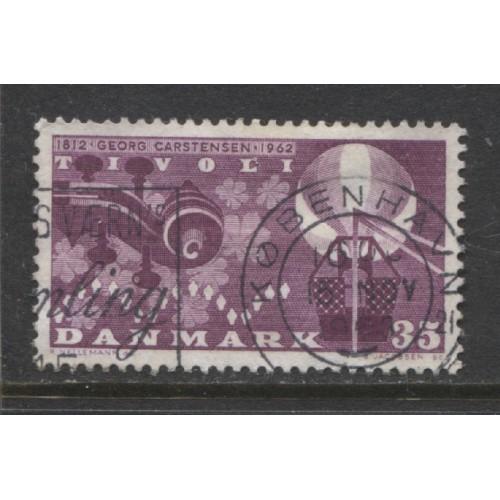 1962 Denmark  35 o.  Georg Carstensen 150th anniv.  used, Scott # 404