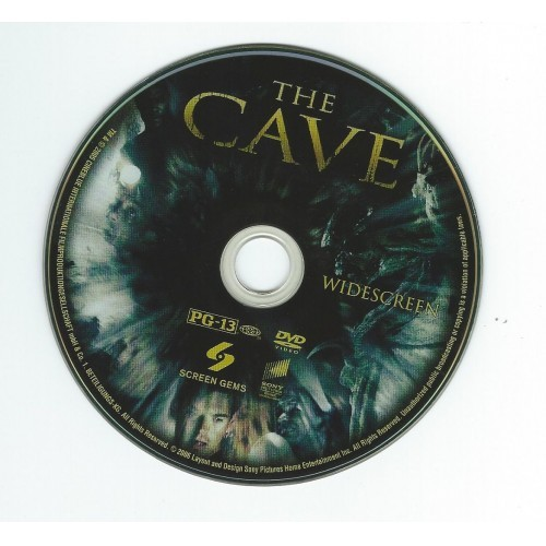 The Cave (DVD without cover) Morris Chestnut, Cole Hauser, Piper Perabo