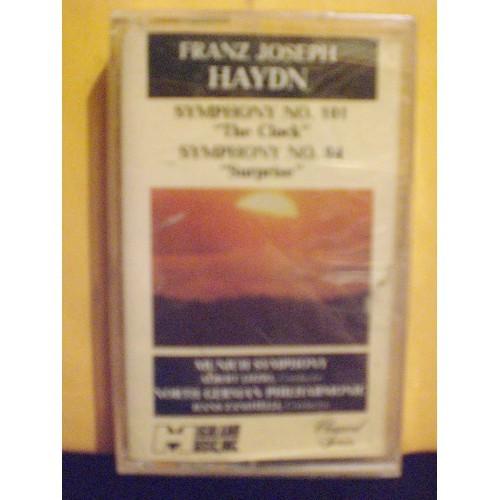 SEALED CASSETTE TAPE: #278.. JOSEPH HAYDEN - SYMPHONYS #101 THE CLOCK & #94 SUPR