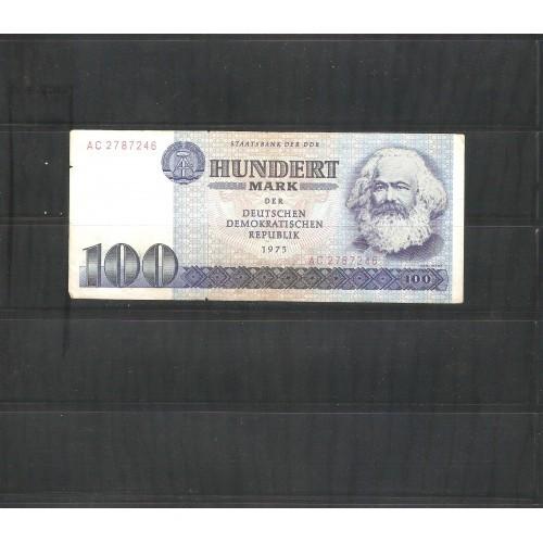 Germany Democratic Republic 100 Mark 1975