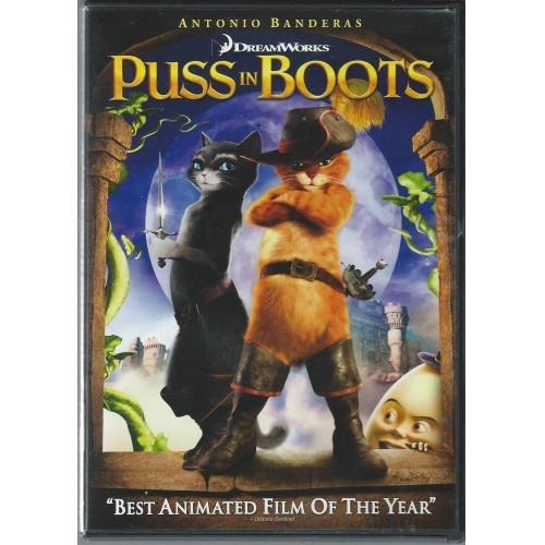 Puss In Boots (DVD) Animated