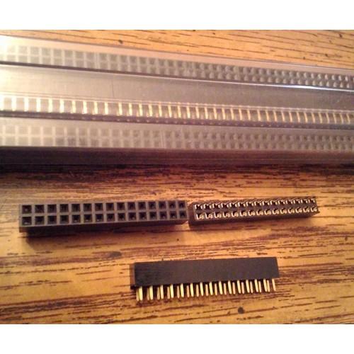 Lot of 80: Keltron 2RPC2-30S-G-F1 Receptacle PCB Socket