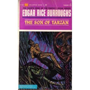 BURROUGHS Edgar Rice SON OF TARZAN 1st Ballantine