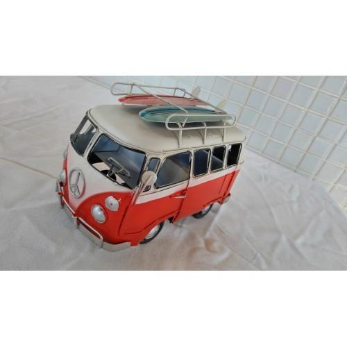 Volkswagen T1 Type 2 Kombi Microbus c8 Van Metal VW Transporter Pick up Surf Toy
