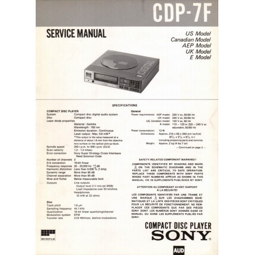 SONY service manuals, owners manuals and schematics on 12 DVD