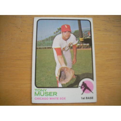 1973 Card 238 Tony Muser Chicago White Sox Nice Shape