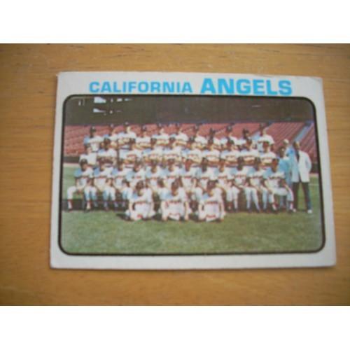 1973 Card 243 California Angels Team Nolan Ryan Nice Shape